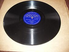 JIMMY DORSEY ORCH KAY WEBER SHADED DECCA WHEN LOVE COMES YOUR WAY/ ME & MARIE