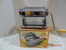 MARCATO Atlas 150 Pasta Noodle Maker Stainless Steel Complete in Original Box
