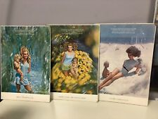 1968-69 SANDCASTLE SWIMWEAR Bathing Suit Ad Harper's Bazaar on Card Stock