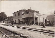 ROCCARAVINDOLA - STAZIONE FERROVIARIA - MONTAQUILA (ISERNIA) 1962