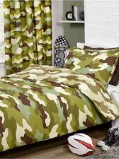 Camouflage armée Set Housse de couette réversible DESIGN MILITAIRE 2 en 1