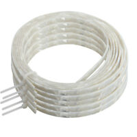 5 Pcs Guitar Binding Purfling Strip Celluloid 1650 x 5mm White Pearl 1.5mm Thick