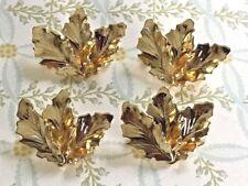 Sarah coventry Brooch Set,Gold Plated Brooch,Leaves,Leaf Brooch,Pins,Vintage G93