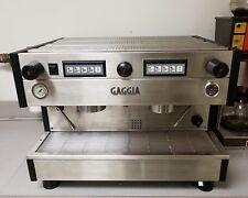Gaggia XD 2-Station Commercial Espresso/Cappuccino Machine + Accessories