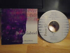 RARE PROMO ONLY Peter Gabriel CD Before Us: a brief history SAMPLER Genesis 1992