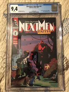 Next Men 21 CGC 9.4 White Pages 1st Hellboy
