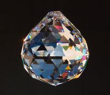 3x Kristall Kugel 30mm Glaskristalle zum Aufhängen Regenbogenkristall Feng Shui