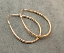 Charm Fashion  Jewelry Gold Teardrop Hoop Earrings Dangles for Women
