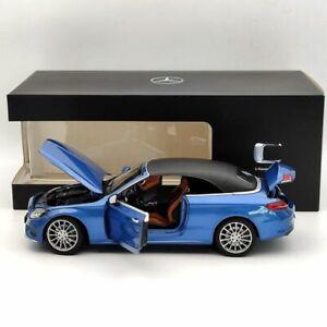 Original MODEL 1/18 Mercedes-Benz A205 C-Klasse C-Class Convertible Blue