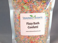 NEW - Fizzy Bath Confetti - 9 ounces of Bath Bomb Like Confetti - Resealable Bag