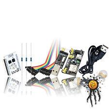 ESP8266 ESP201 8Mbit Flash Power Supply USB TTL Cable Beginner IoT Kit 26 Teile