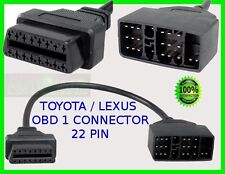 LEXUS DIAGNOSTIC CONNECTOR 22 PIN LEXUS ES300 GS300 RX300 OBD1 TO OBD2 ADAPTOR