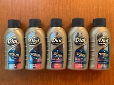 DIAL FOR MEN BODYWASH HAIR, SCALP & BODY 2 OZ LOT OF 5