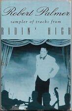 Robert Palmer  Ridin' High CASSETTE PROMO SAMPLER Jazz-Rock, Cool Jazz