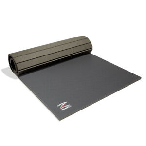 Zebra Home Roll out mat - Grey - Homegym - Hometraining - Rollmatte  BJJ - Judo