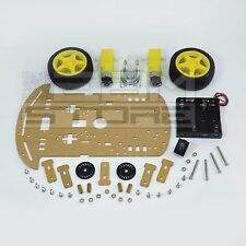 KIT robot 2 ruote - chassis piattaforma shield arduino pic - ART. CS01
