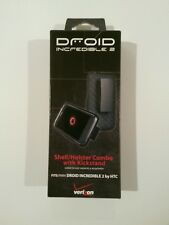 DROID INCREDIBLE 2.. SHELL/ HOLSTER COMBO W/KICKSTAND