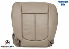 2011 2012 Ford F-150 FX2 FX4 -Passenger Bottom PERFORATED Leather Seat Cover Tan