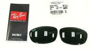 AUTHENTIC RAY-BAN RB3119 001 59MM REPLACEMENT GREEN LENSES