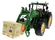 Pallet forcella per John Deere 7r con Front caricatrici – Siku 6777 Control 32