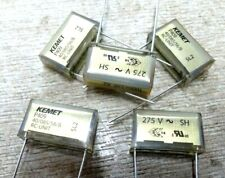 5x 100nf + 33R X2 RC suppression network capacitor 0.1uf Kemet rifa