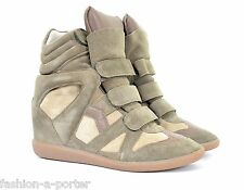 Isabel marant bekett sur panier Taupe Baskets Formateurs EU 39 US 9 UK 6