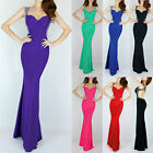 Cheap Mermaid Bridesmaid Party Sexy MERMAID Ball Gown Evening Long Prom Dresses