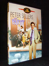 The Party (DVD 2001) Mint Disc•Authentic USA•Out-of-Print•Peter Sellers