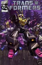 Transformers: Generation 1 vol 1 #3 Decepticon Cover