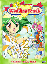 Wedding Peach - Vol. 3: Spring Storm (DVD, 2004)