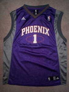 ADIDAS Phoenix Suns AMARE STOUDEMIRE nba THROWBACK Jersey YOUTH KIDS BOYS m
