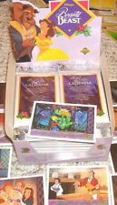UPPER DECK Beauty and the Beast Card Pack 1992- 10 Cards Italian/English DISNEY