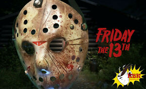 Friday the 13th Jason Voorhees Halloween Mask Custom Painted (Part 11 inspired)