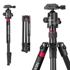 """2-in-1 Aluminum Alloy Camera Tripod Monopod 66"""" with Ball Head QR Plate and Bag"""