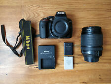 Nikon D5300 DSLR Camera with 18-140mm Lens - SD card, Extra battery, neck strap
