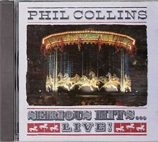 "CD ALBUM PHIL COLLINS  ""SERIOUS HITS"""