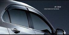 GENUINE OEM WINDOW DOOR VISOR WEATHERSHIELD FOR ACCORD EURO CU2 TSX 2008-2014