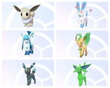 ✨SQUARE SHINY✨ Eevee Evolution Bundle + 9 Masterballs  | Pokémon Sword & Shield