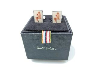 Paul Smith Cufflinks - BNWT Seasonal Book Naked Lady Cufflinks Rare on Market