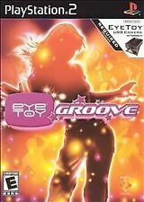 ~ EYETOY: GROOVE ~ Sony PlayStation 2 PS2 GAME 2004 RATED E BUY MORE SAVE A LOT