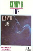 Kenny G,. Live Import Cassette Tape