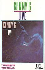 Kenny G,. Live Import Cassette Tape