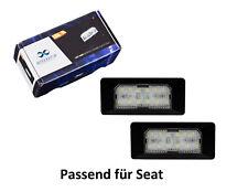2 x Premium LED Kennzeichenbeleuchtung Kennzeichenleuchten für Seat KB15