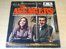 EX/EX- !! Laurie Johnson/The Avengers/1981 Varese Sarabande Soundtrack LP