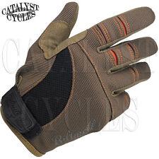 Biltwell Moto Motorcycle Riding Gloves Biltwell Moto Gloves in Brown/Orange