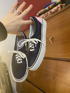 Vans Sneakers Euro Size 39 / Women's 8.5 Lilac & Navy Athlesiure Shoes Designer
