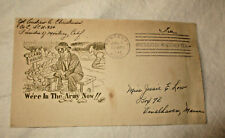 Jul 1 1943 Envelope Presidio of Monterey Colonel Christiansen to Miss Low Maine