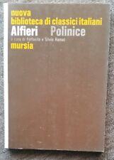 ALFIERI - POLINICE - NUOVA BIBLIOTECA DI CLASSICI ITALIANI