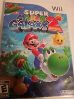Super Mario Galaxy 2 Nintendo Wii with Manual Works Good