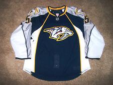 Nashville Predators Game Issued Hockey Jersey Michael LATTA - Meigray - 2009-10